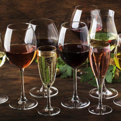 still and sparkling wines